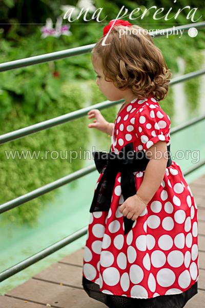 vestido para festa infantil minnie mouse