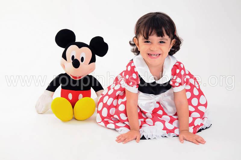 Vestidos Minnie Infantil