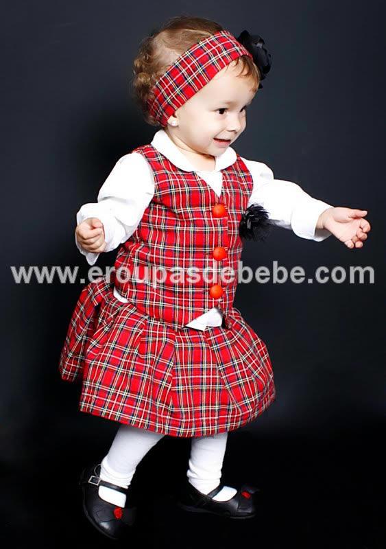 conjunto infantil feminino xadrez vermelho