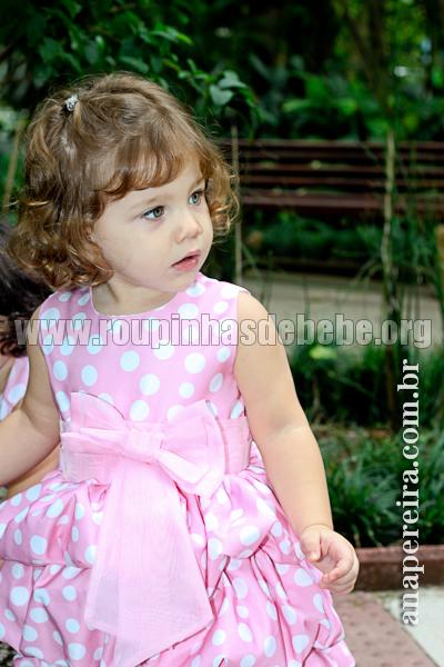 roupas infantil para dama de honra