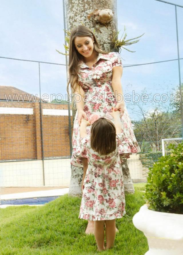 roupas infantil feminina floral