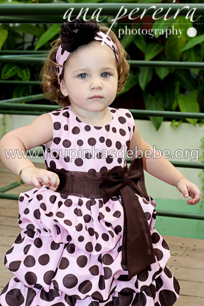 roupas infantil feminina rosa com marrom
