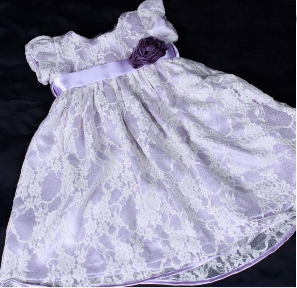 vestidinho de renda infantil