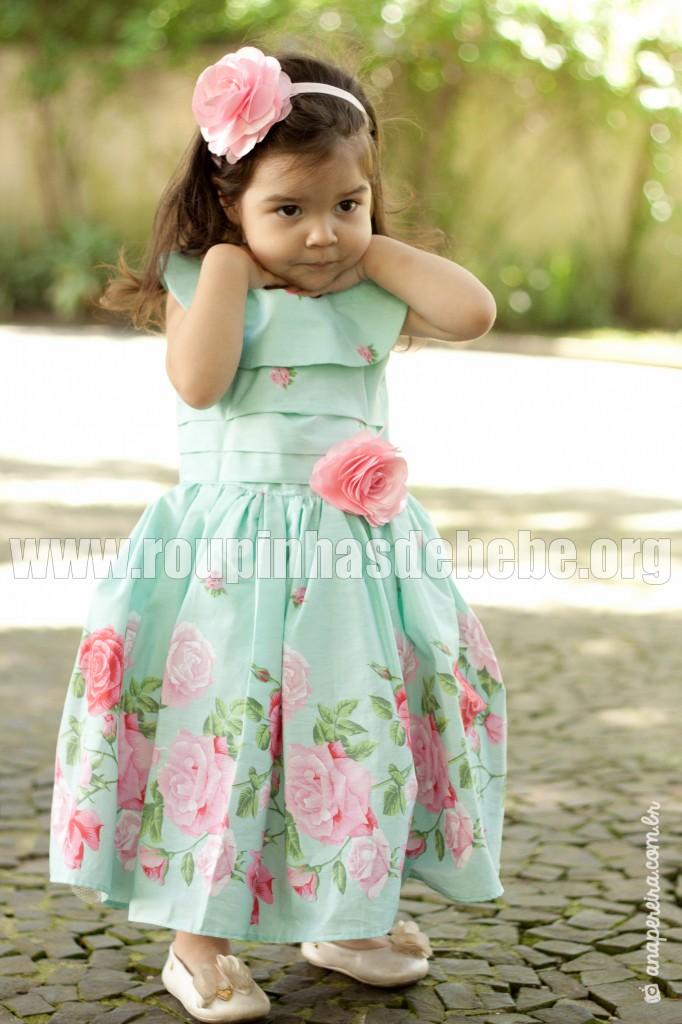 6810f953bb5 Loja e-Roupas de Bebê - Vestido De Festa Infantil