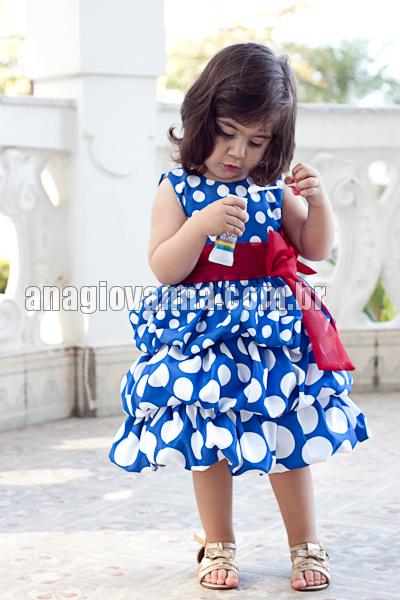 vestido infantil balone galinha pintadinha