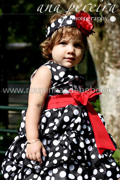 vestido preto infantil de festa
