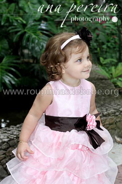 vestidos de daminha infantil