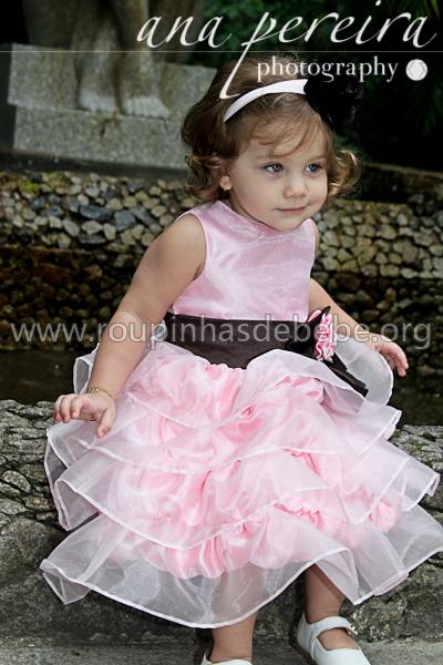 vestidos infantil dama de honra