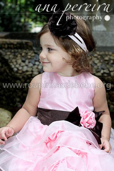 vestidos infantis de princesa