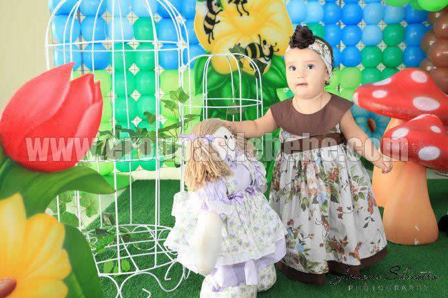 vestidos infantis de festa