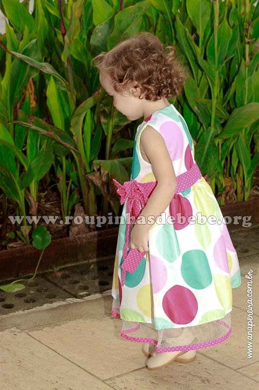 vestido de criança para aniversário