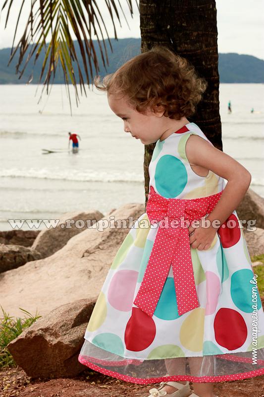vestido de bebe festa 1 ano