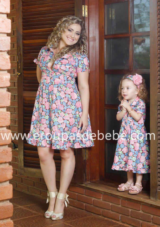 vestidinhos florais infantil rosa