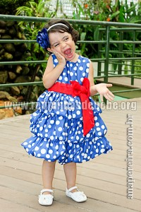 Vestido Galinha Pintadinha para Festa