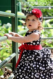 Vestido da Minnie Infantil