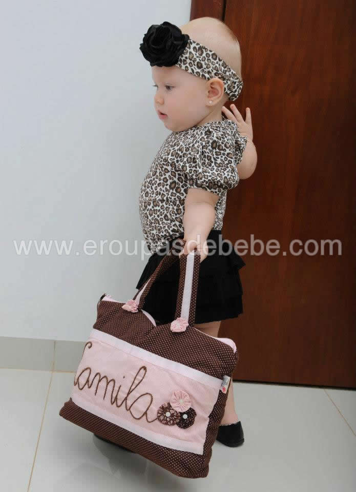 vestido de oncinha de bebe