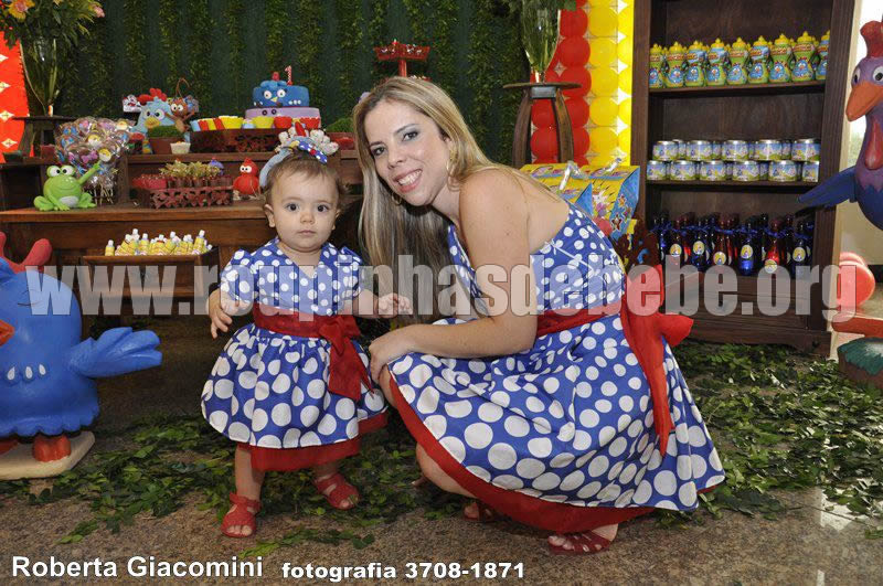 Vestido Galinha Pintadinha Mãe e Filha