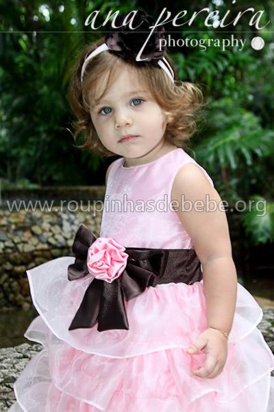 roupa princesa infantil para festa