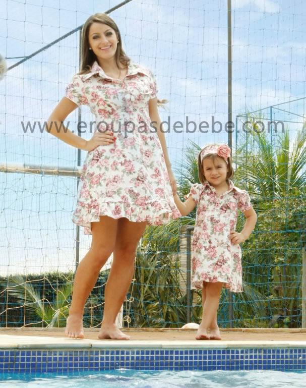 vestidos florais infantis para festa