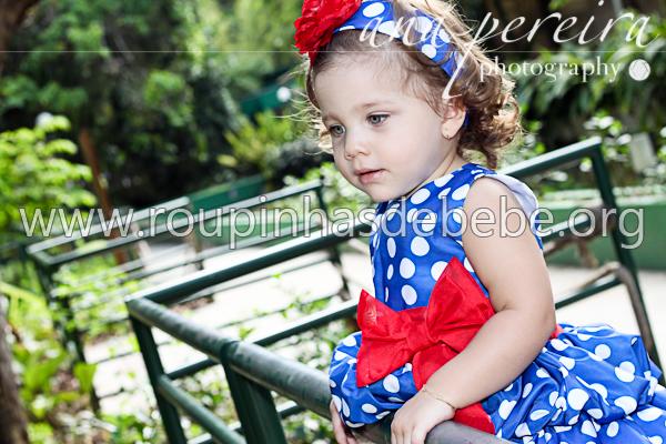 vestido infantil de festa com faixa