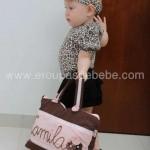 Vestido de Oncinha para bebê