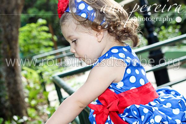vestido infantil para festa 1 ano