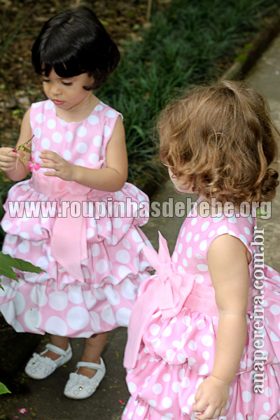roupas da minnie rosa infantil