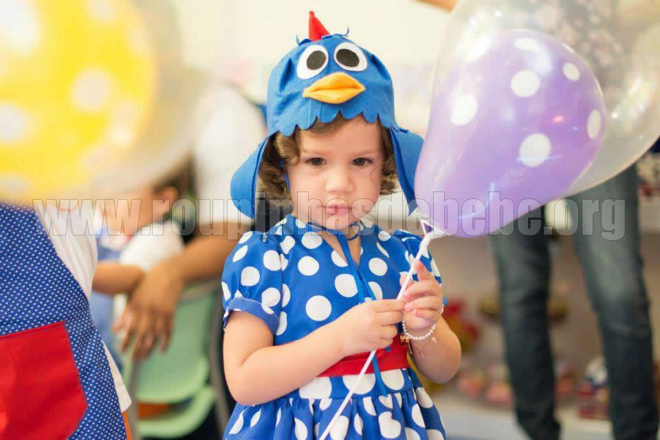 Vestido para festa de 1 ano