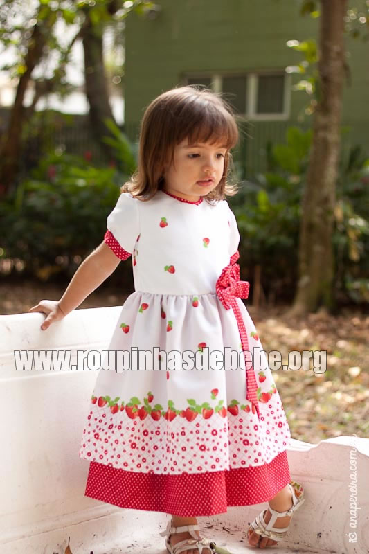 Vestidos de crianças para aniversário