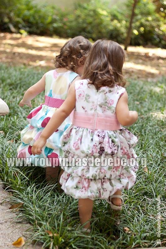 vestidos floral infantil