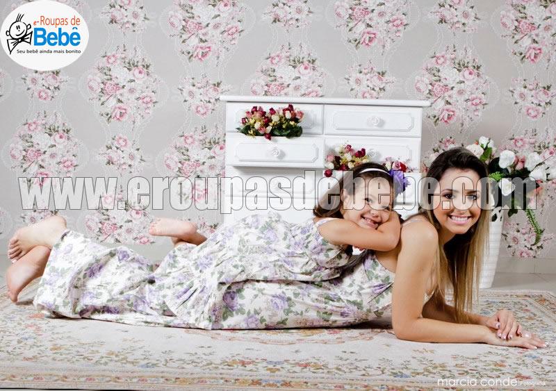 vestidos florais infantil