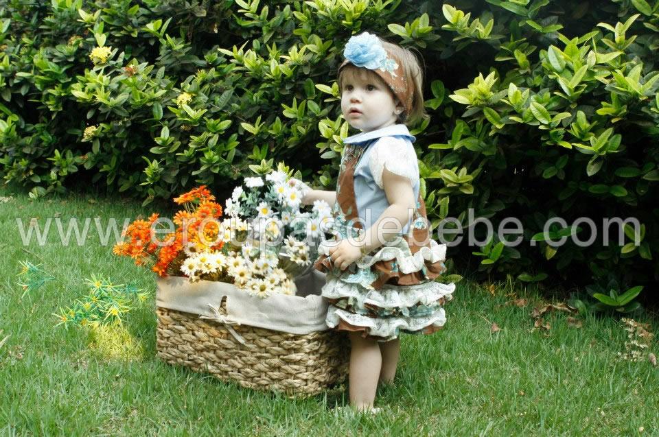 Jardineira Infantil Feminina