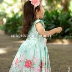 Vestido infantil com bolero
