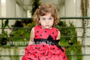 vestido da joaninha para bebe
