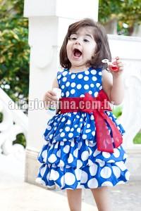 vestido de festa da galinha pintadinha infantil