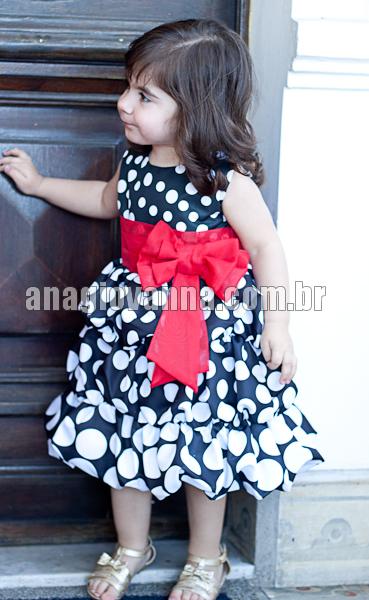 vestido infantil de festa da minnie