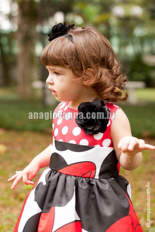 vestido para festa de bebe da minnie