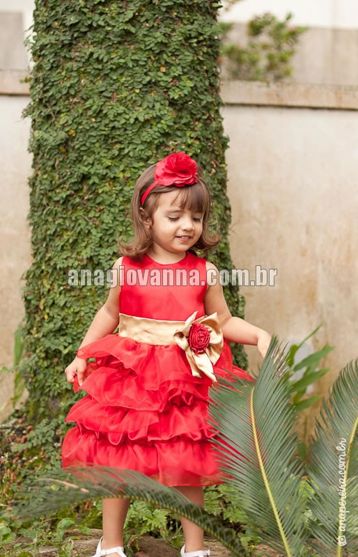 vestido princesa infantil para festa