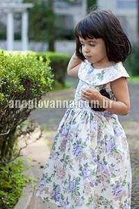Vestido para festa social infantil