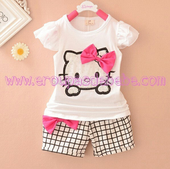 Roupas de bebê Hello Kitty