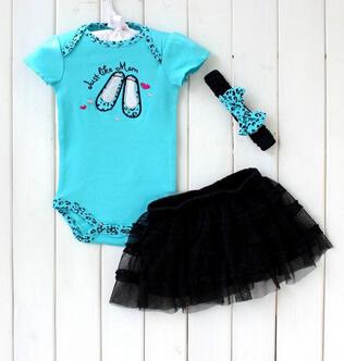 Conjunto body azul preto