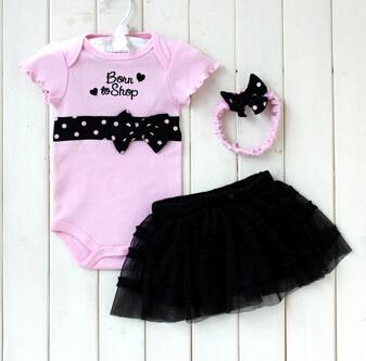 Conjunto body preto rosa