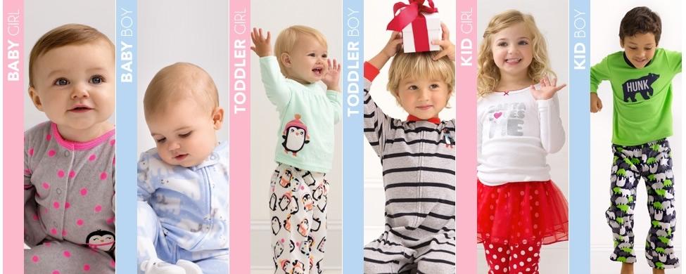 Roupas para bebê e infantis adequadas para todas as estações