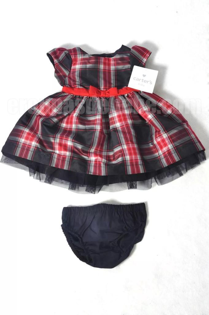Vestido de bebê Carters