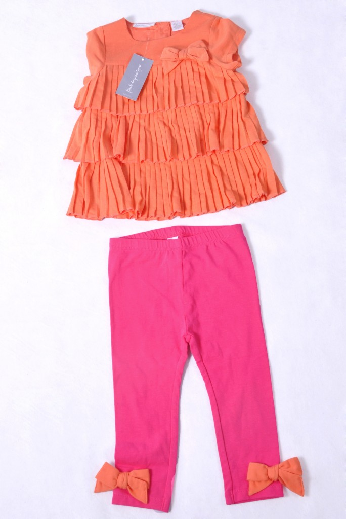 Blusa e calça para criança feminina