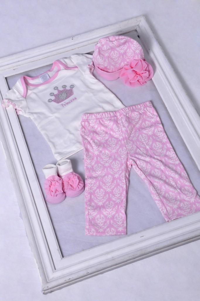 Conjunto para bebê menina