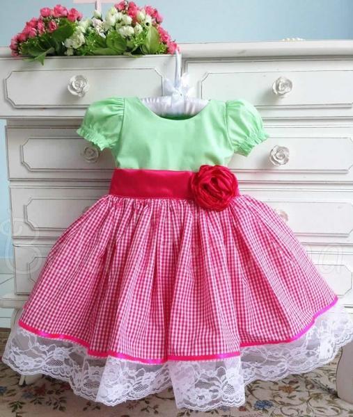 Vestido da Moranguinho